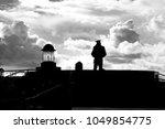 lone sailor memorial in san... | Shutterstock . vector #1049854775