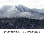 beautiful mountain terrain... | Shutterstock . vector #1049859071
