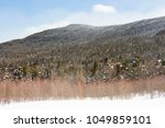 beautiful mountain terrain... | Shutterstock . vector #1049859101