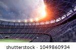 stadium soccer fan 3d rendering | Shutterstock . vector #1049860934