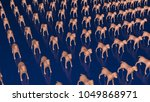 animal cloning  dogs. front top ... | Shutterstock . vector #1049868971