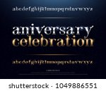 elegant silver and golden... | Shutterstock .eps vector #1049886551