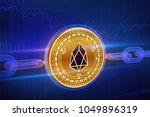 crypto currency. block chain.... | Shutterstock .eps vector #1049896319