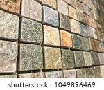 stone brick wall textured...   Shutterstock . vector #1049896469