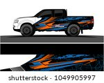 truck  car and vehicle racing... | Shutterstock .eps vector #1049905997