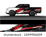 truck  car and vehicle racing...   Shutterstock .eps vector #1049906009