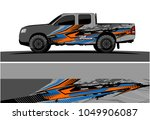 truck  car and vehicle racing... | Shutterstock .eps vector #1049906087