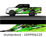 truck  car and vehicle racing... | Shutterstock .eps vector #1049906135
