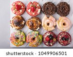 variety of colorful old... | Shutterstock . vector #1049906501