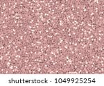 Stock vector rose gold sequins seamless pattern on pink background 1049925254