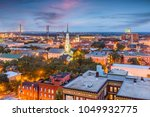 savannah  georgia  usa downtown ...   Shutterstock . vector #1049932775