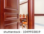 vintage decorated meeting room... | Shutterstock . vector #1049933819