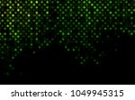 dark green vector  layout with... | Shutterstock .eps vector #1049945315