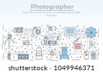 photography concept vector...