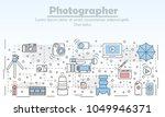 photography concept vector...