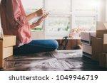 young business start up online... | Shutterstock . vector #1049946719