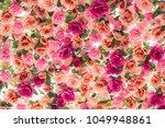 background of artificial... | Shutterstock . vector #1049948861
