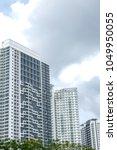 modern residential high rise...   Shutterstock . vector #1049950055