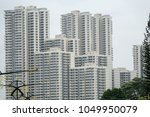 modern residential high rise...   Shutterstock . vector #1049950079