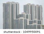 modern residential high rise...   Shutterstock . vector #1049950091