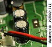 technology electronics elements ... | Shutterstock . vector #1050004811