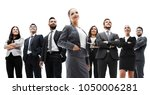 happy successful business team... | Shutterstock . vector #1050006281