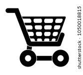 shopping cart icon  supermarket ... | Shutterstock .eps vector #1050018815