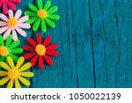 easter spring festival color... | Shutterstock . vector #1050022139