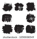 hand drawn scribble symbols... | Shutterstock .eps vector #1050038549