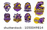 a collection of logos  badges ...   Shutterstock .eps vector #1050049814