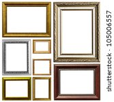 Antique Frame  Isolated On...