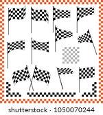 race flag various designs ... | Shutterstock .eps vector #1050070244
