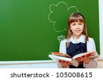 portrait of a smiling... | Shutterstock . vector #105008615