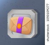 game icon of mail in cartoon...