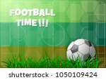 russia 2018 championship theme... | Shutterstock .eps vector #1050109424
