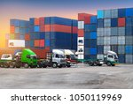 industrial logistics and... | Shutterstock . vector #1050119969