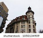 building in bucharest | Shutterstock . vector #1050134909