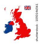 vector illustration of united... | Shutterstock .eps vector #1050146561