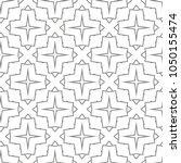 seamless geometric ornamental...   Shutterstock .eps vector #1050155474