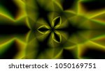 abstract symmetry kaleidoscope... | Shutterstock . vector #1050169751