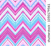 abstract ikat and boho style... | Shutterstock .eps vector #1050179561