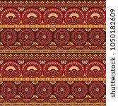 ethnic american native style...   Shutterstock .eps vector #1050182609