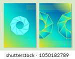 precious stone poster set ... | Shutterstock .eps vector #1050182789