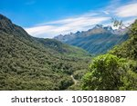 pop's view lokout and hollyford ... | Shutterstock . vector #1050188087