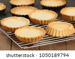 cooking process of tartlets.... | Shutterstock . vector #1050189794