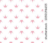 simple seamless pattern with... | Shutterstock .eps vector #1050196655