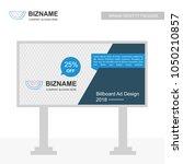 company bill board design with... | Shutterstock .eps vector #1050210857
