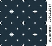 seamless stars pattern   vector ... | Shutterstock .eps vector #1050218369