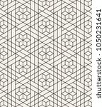 abstract geometric pattern with ... | Shutterstock .eps vector #1050231641