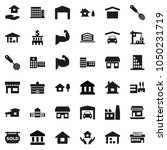 flat vector icon set   house... | Shutterstock .eps vector #1050231719
